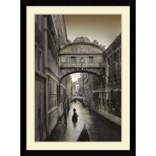 Framed Art Print 'Don't Look Back' by William Vanscoy 32 x 43-inch