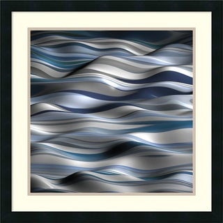 Framed Art Print 'Undulation 1A' by J.P. Clive 24 x 24-inch
