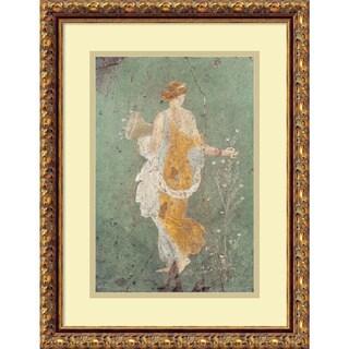 Pompeian 'Primavera' Framed Art Print 15 x 19-inch