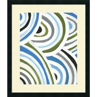 Framed Art Print 'Swirly Bob I' by Jodi Fuchs 23 x 27-inch