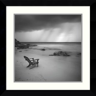 Framed Art Print 'Storm' by Moises Levy 26 x 26-inch