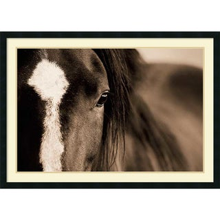 Lisa Dearing 'Dark Eyes' Framed Art Print 42 x 30-inch