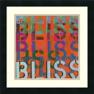 Jodi Fuchs 'Bliss' Framed Art Print 18 x 18-inch