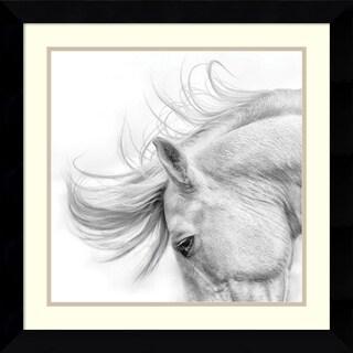 Phyllis Bruchett 'Flair' Framed Art Print 25 x 25-inch