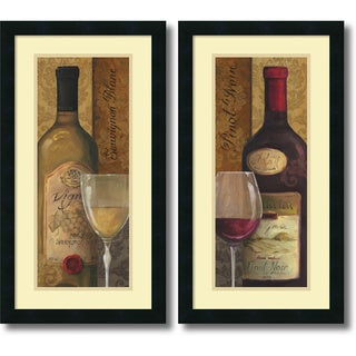 Lisa Audit 'From the Cellar- set of 2' Framed Art Print 14 x 26-inch Each