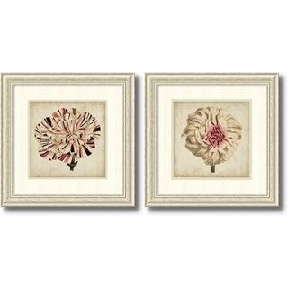 Framed Art Print 'Pop Floral - set of 2' by Vision Studio 27 x 27-inch Each