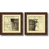 Framed Art Print 'Architectural Inspiration  - set of 2' by Vision Studio 24 x 24-inch Each