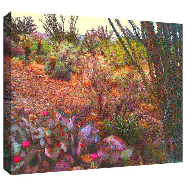 Dean Uhlinger 'Sonoran Spring' Gallery-wrapped Canvas - Multi