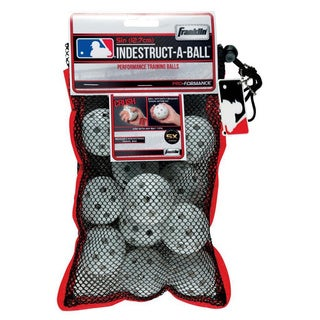 Franklin Sports MLB 5-inch Indestruct-A-Ball Micro Baseballs