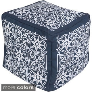 Mugu Art Outdoor/ Indoor Decorative Cube Pouf