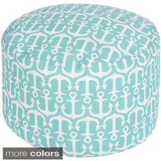 Sea Anchor Outdoor/ Indoor Decorative Cylinder Pouf