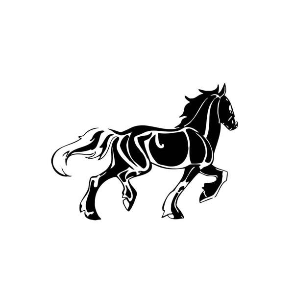Shop Draft Horse Vinyl Wall Art Free Shipping Today