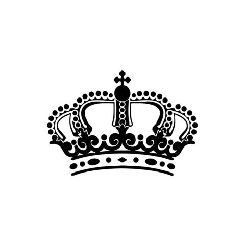 Kings Crown Vinyl Wall Art