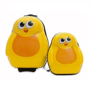 Cuties & Pals Children's Chico Chick Hardside Luggage Set