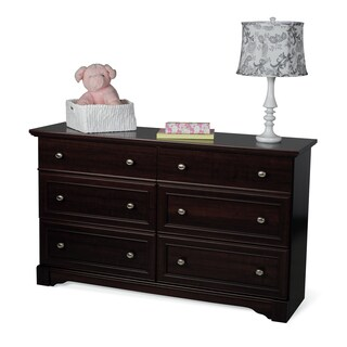 Child Craft Updated Classic Double Dresser in Select Cherry