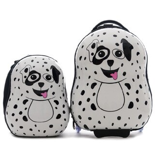 Cuties & Pals Children's Pupster Dalmatian Hardside Luggage Set|https://ak1.ostkcdn.com/images/products/9172656/Cuties-Pals-Childrens-Pupster-Dalmatian-Hardside-Luggage-Set-P16348935.jpg?_ostk_perf_=percv&impolicy=medium