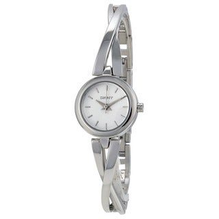 DKNY Women's NY2169 Crosswalk White Silver Watch