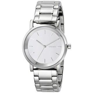DKNY Women's NY2177 Soho Round Silver Tone Watch https://ak1.ostkcdn.com/images/products/9172725/DKNY-Womens-NY2177-Soho-Round-Silver-Tone-Watch-P16349097.jpg?_ostk_perf_=percv&impolicy=medium