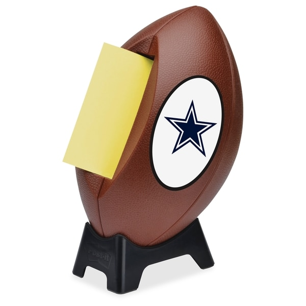 Dallas Cowboys Post-it Notes Football Dispenser