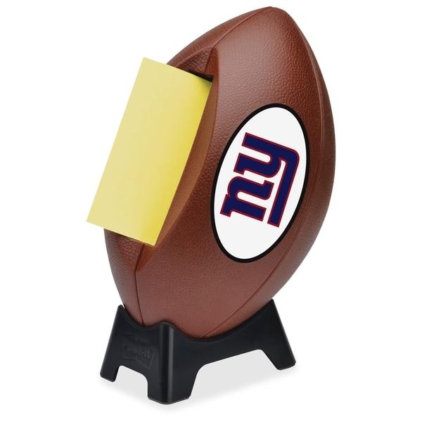 New York Giants Post-it Notes Football Dispenser