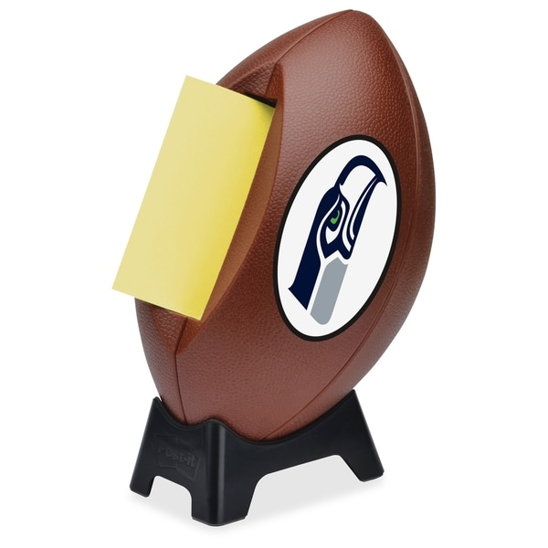 Seattle Seahawks Post-it Notes Football Dispenser