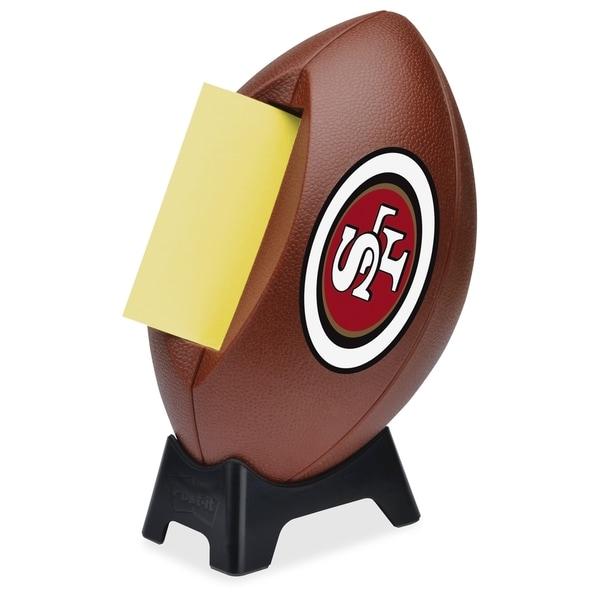 San Francisco 49ers Post-it Notes Football Dispenser