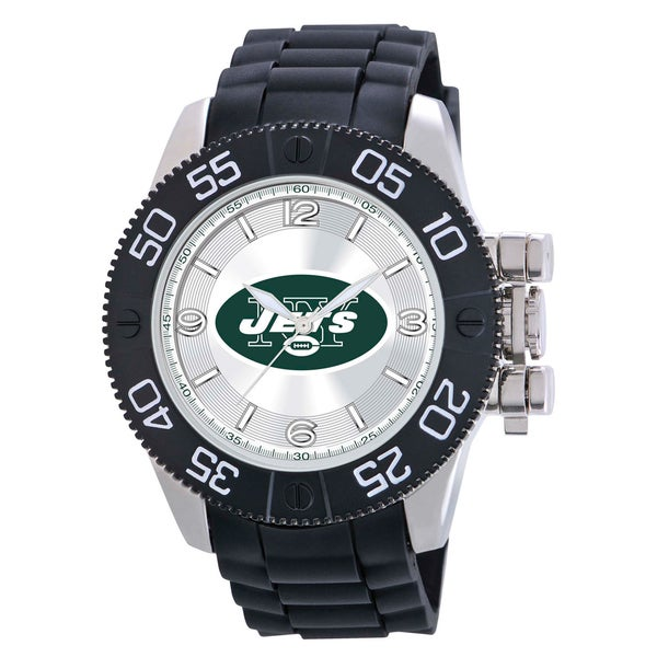 Game Time New York Jets NFL Men's Beast Watch