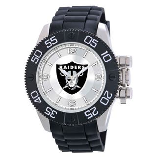 Game Time Oakland Raiders NFL Men's Beast Watch|https://ak1.ostkcdn.com/images/products/9172797/Oakland-Raiders-NFL-Mens-Beast-Watch-P16349164.jpg?impolicy=medium