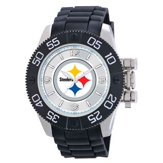 Game Time Pittsburgh Steelers NFL Men's Beast Watch|https://ak1.ostkcdn.com/images/products/9172798/Pittsburgh-Steelers-NFL-Mens-Beast-Watch-P16349165.jpg?impolicy=medium