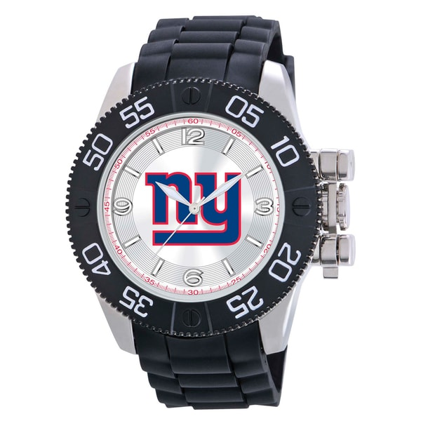 Game Time New York Giants NFL Men's Beast Watch