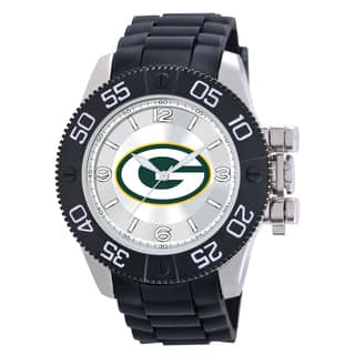 Game Time Green Bay Packers NFL Men's Beast Watch|https://ak1.ostkcdn.com/images/products/9172808/Green-Bay-Packers-NFL-Mens-Beast-Watch-P16349174.jpg?impolicy=medium