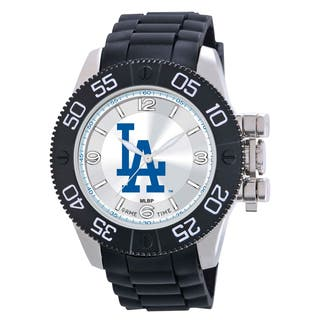 Game Time Los Angeles Dodgers MLB Men's Beast Watch|https://ak1.ostkcdn.com/images/products/9172826/Los-Angeles-Dodgers-MLB-Mens-Beast-Watch-P16349193.jpg?impolicy=medium