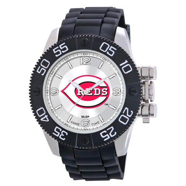 Game Time Cincinnati Reds MLB Men's Beast Watch