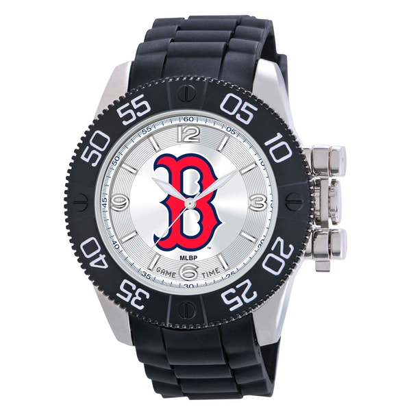 Game Time Boston Red Sox MLB Men's Beast Watch