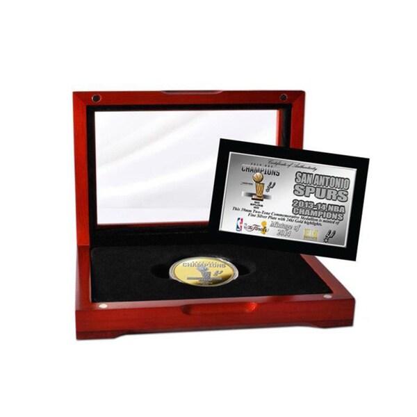 San Antonio Spurs 2014 NBA Finals Champions Two-tone Mint Coin