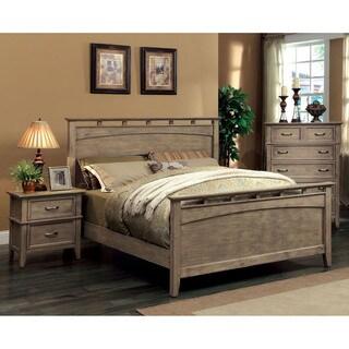 The Gray Barn Epona 3-piece Weathered Oak Bed Set