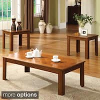 Copper Grove Taber 3-piece Bold Legged Accent Table Set