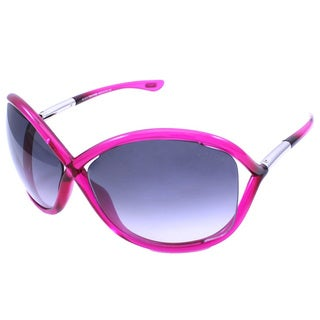 Tom Ford Women's TF9 Whitney 72B Shiny Pink Plastic Fashion Sunglasses