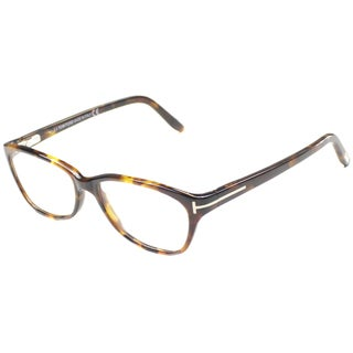 Tom Ford Womens TF5142 FT5142 052 Spotted Brown Rectangle Plastic Eyeglasses