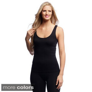 Body Beautiful Women's 2-piece Set of Seamless Tank Tops