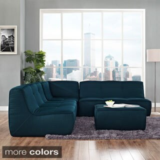 Align 4-piece Upholstered Sectional Sofa Set