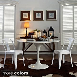 Modern Reception Dining Chairs (Set of 2)