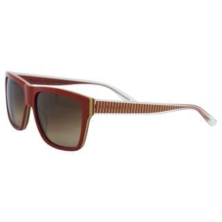 Marc Jacobs Women's MMJ 380/S FOJD8 Red Mud Plastic Fashion Sunglasses