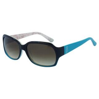 Juicy Couture Women's Juicy 522/S 0RH2Y6 Brown Plastic Square Sunglasses