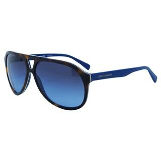 Dolce & Gabbana Women's DG 4169 2706/8F Aviator Sunglasses