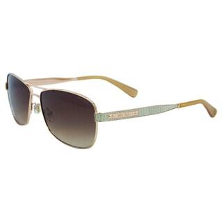 Jimmy Choo Women's Cris/S 0AU2 D8 Red Gold Fashion Metal Sunglasses