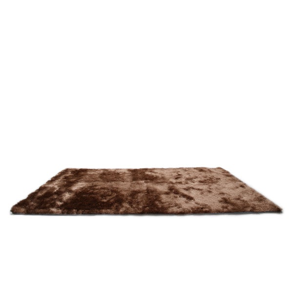Gold Sparrow Coffee Comfort Area Rug (8' x 10')