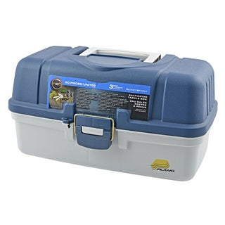 Ready 2 Fish Saltwater 50 piece 3 Tray Tackle Box