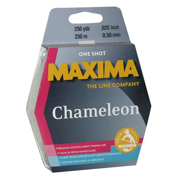 Maxima One Shot Spool Chameleon 250 yds.