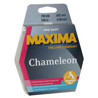 Maxima One Shot Spool Chameleon 250 yds. (3 options available)